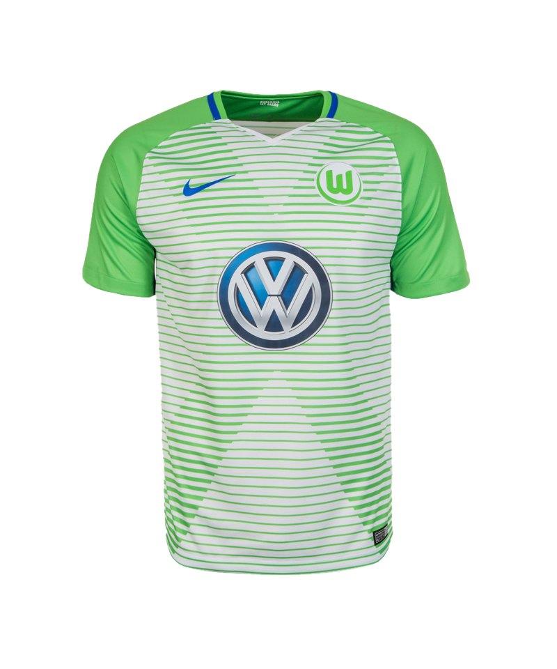 Nike Trikot Home VfL Wolfsburg 2017/2018 F101 - weiss