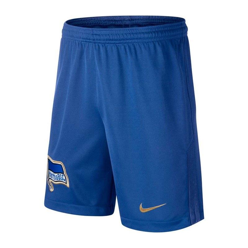 Nike Short Home Hertha BSC Berlin 17/18 Kinder F480 - blau