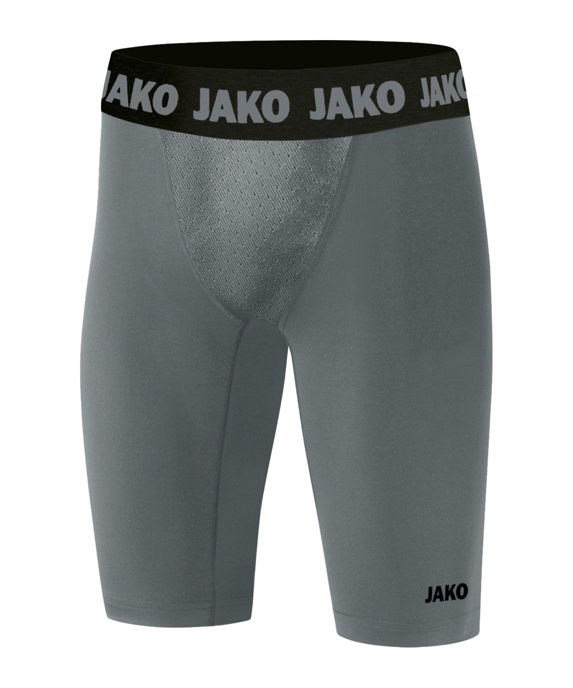 JAKO Compression 2.0 Tight Short Grau F40 - grau