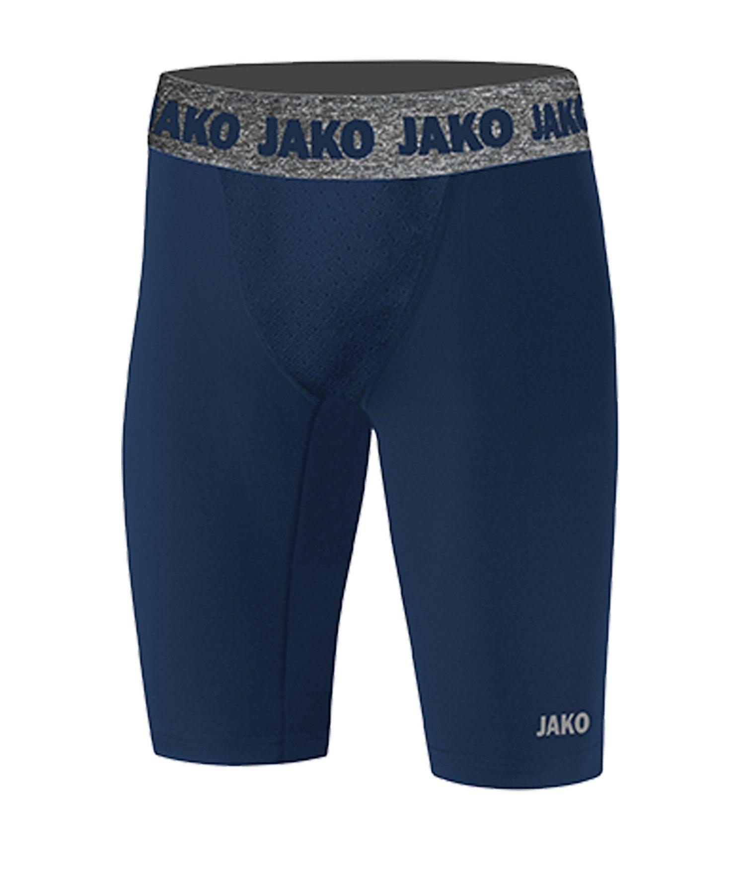JAKO Compression 2.0 Tight Short Kids Blau F09 - blau