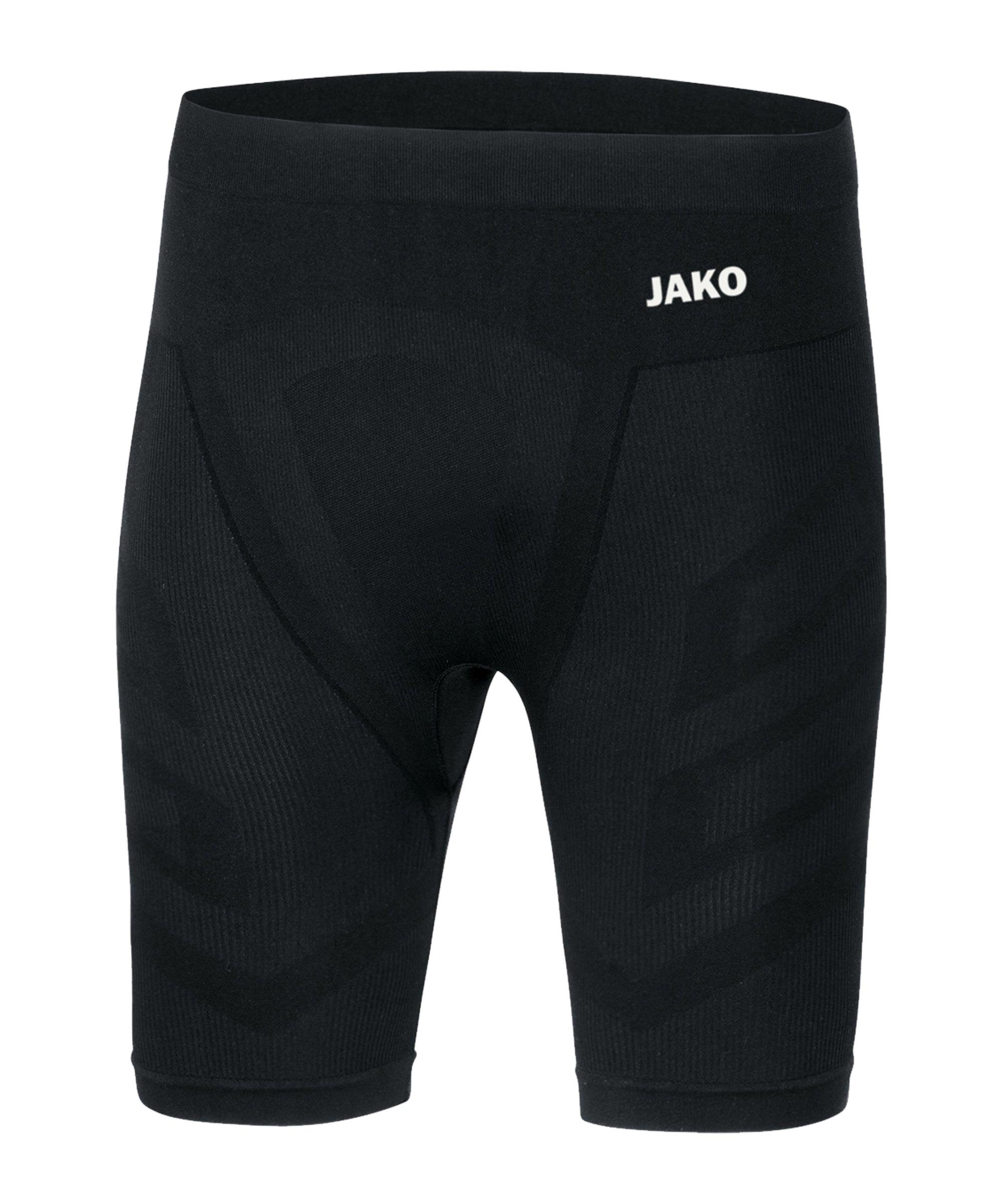 JAKO Comfort 2.0 Tight kurz Schwarz F08 - schwarz