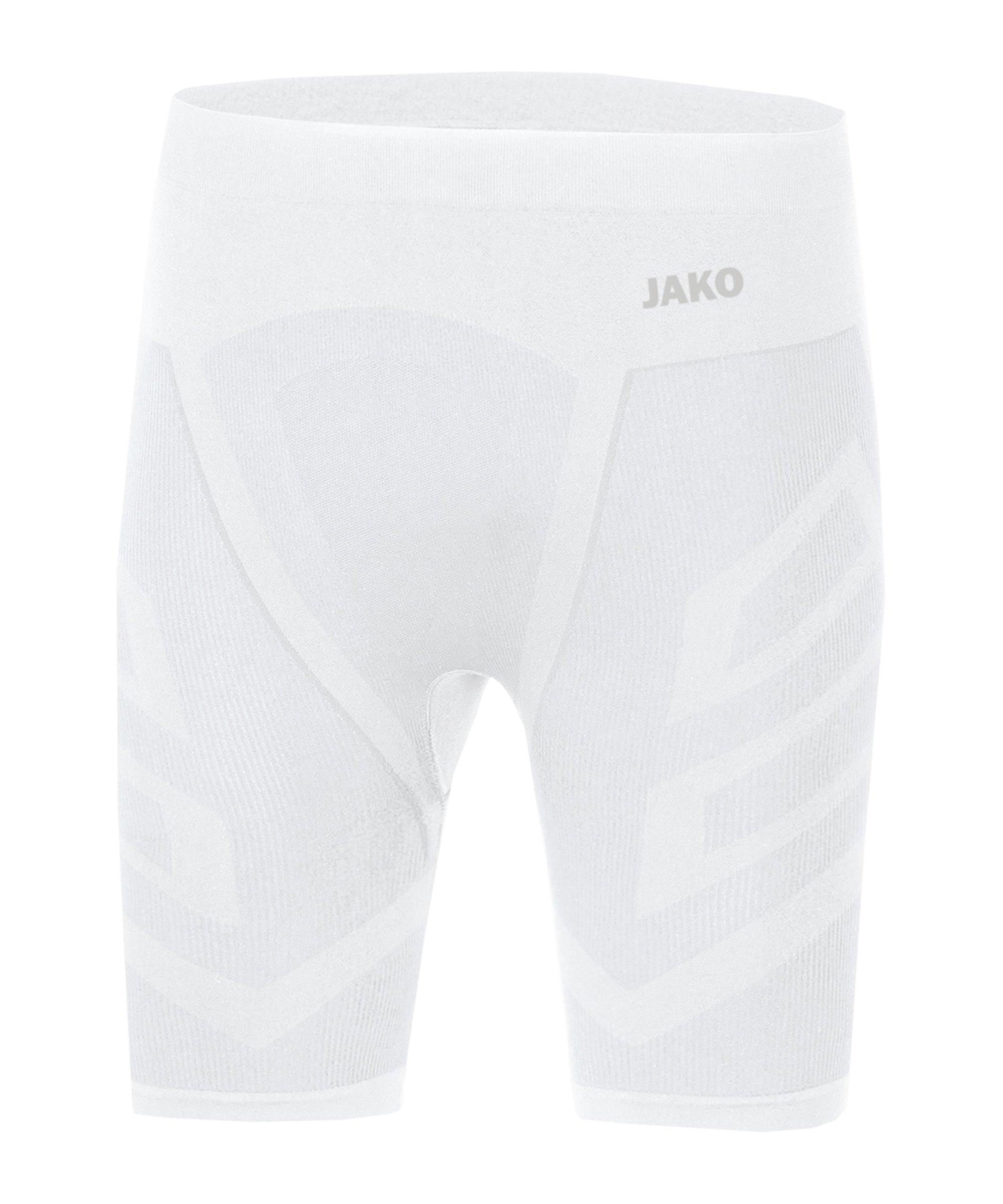 JAKO Comfort 2.0 Tight kurz Weiss F00 - weiss