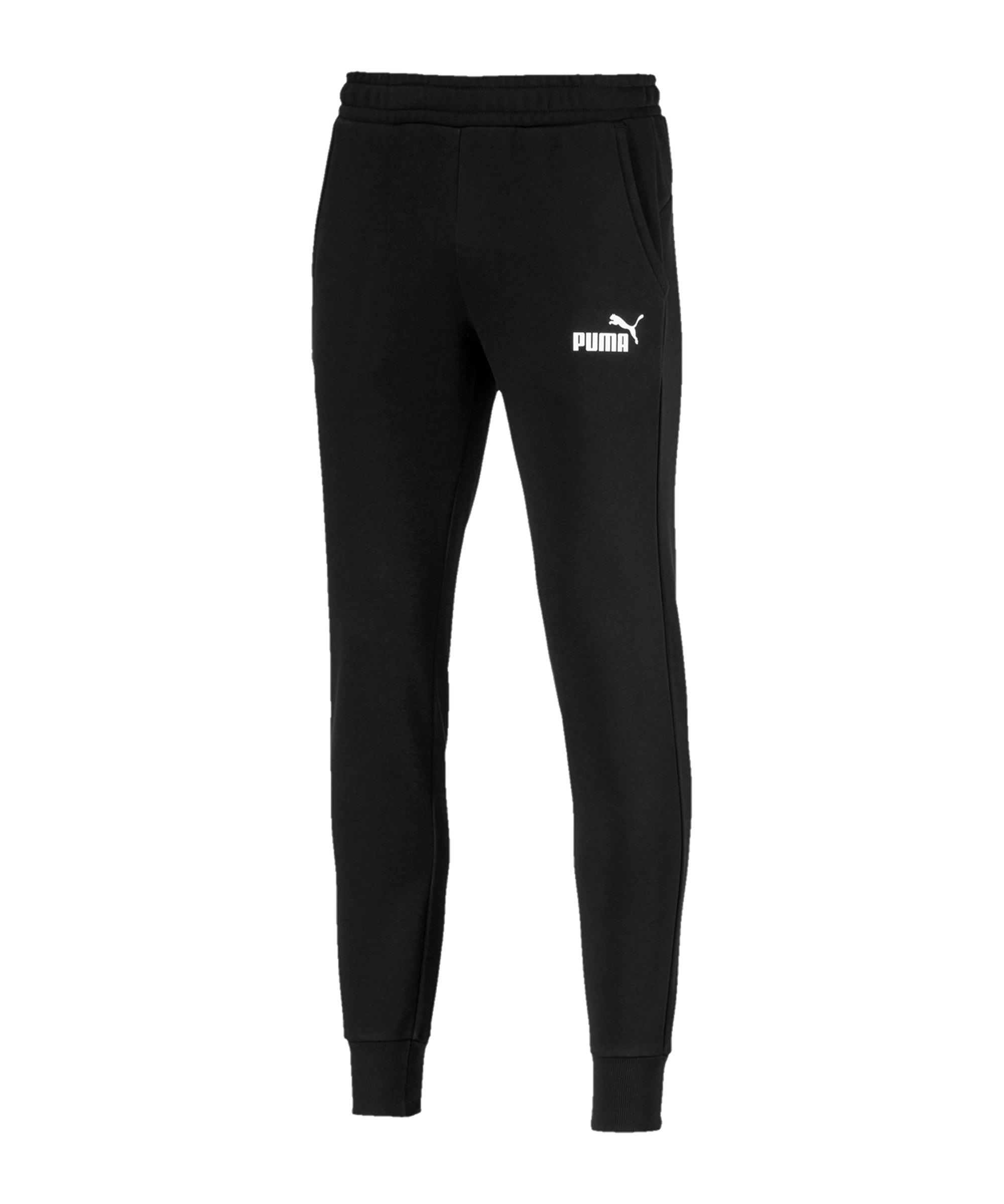PUMA Essential Logo Pant Jogginghose Damen F01 - schwarz