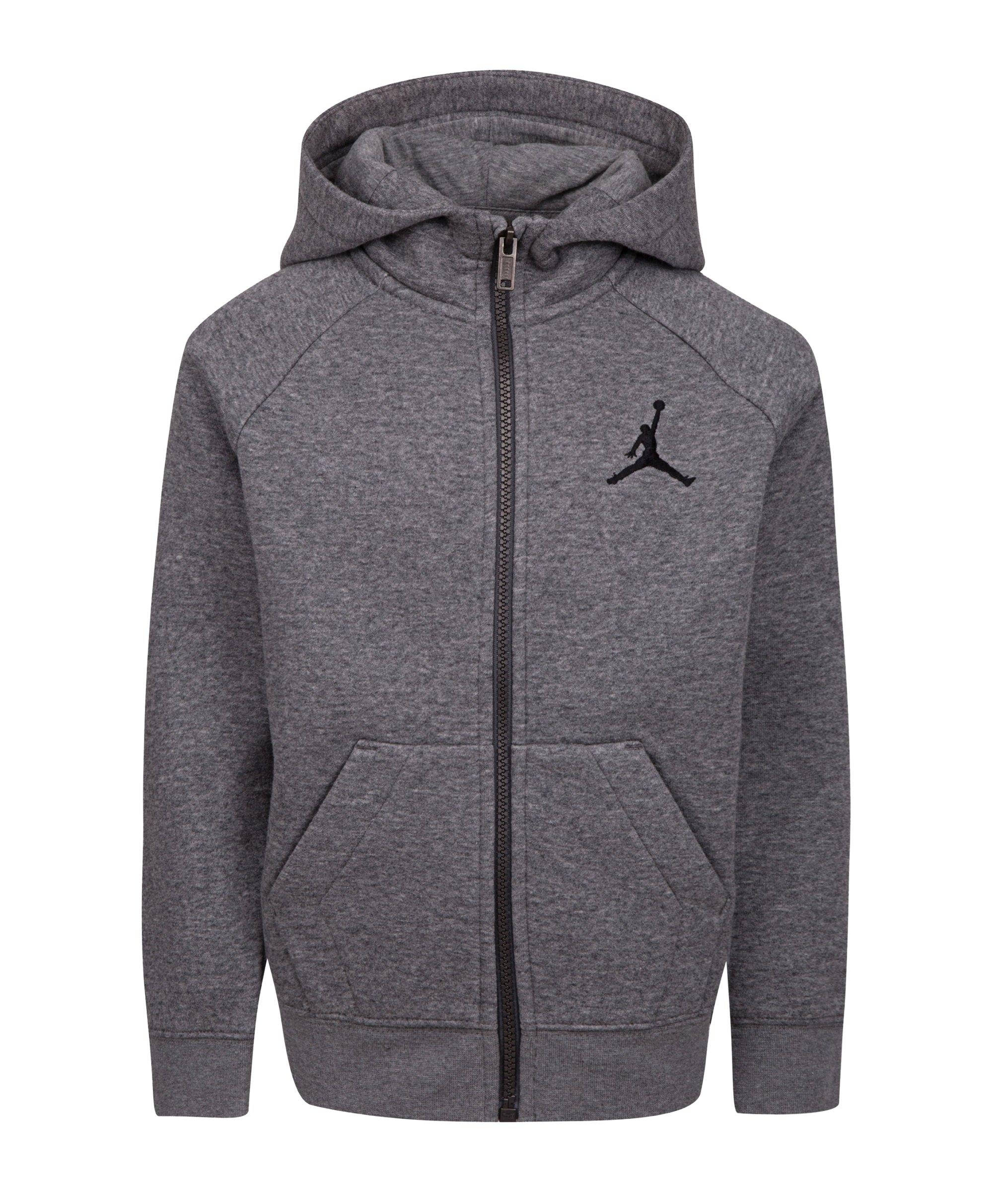 Nike Jumpman Kapuzenjacke Kids Grau FGEH - grau