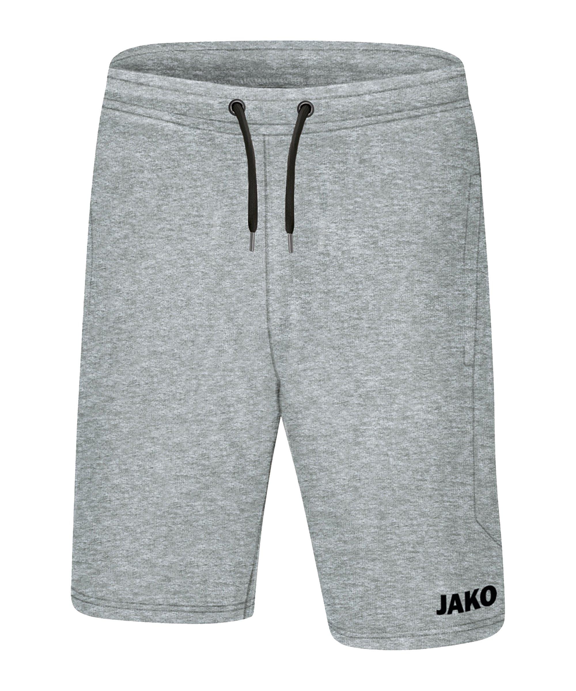JAKO Base Short Kids Hellgrau F41 - grau