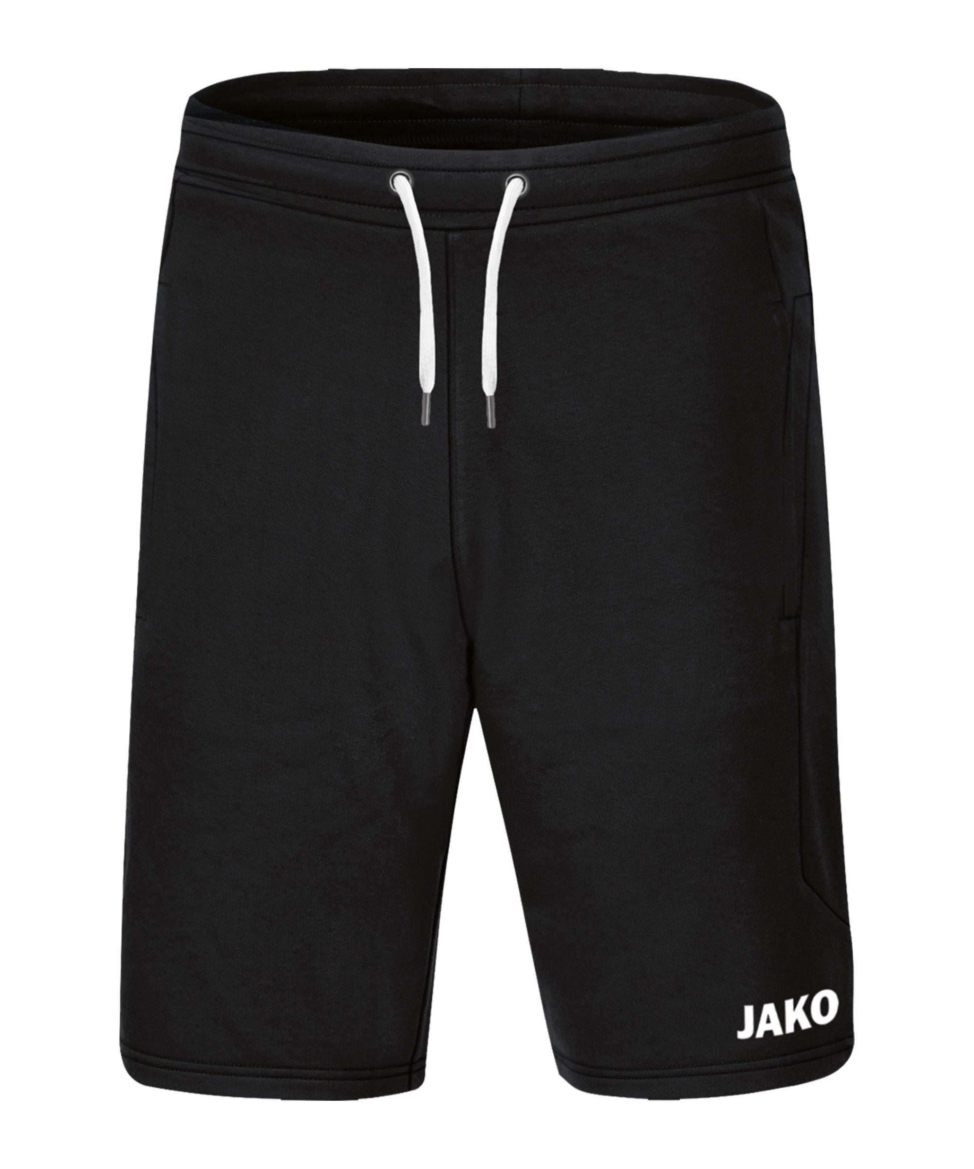 JAKO Base Short Kids Schwarz F08 - schwarz