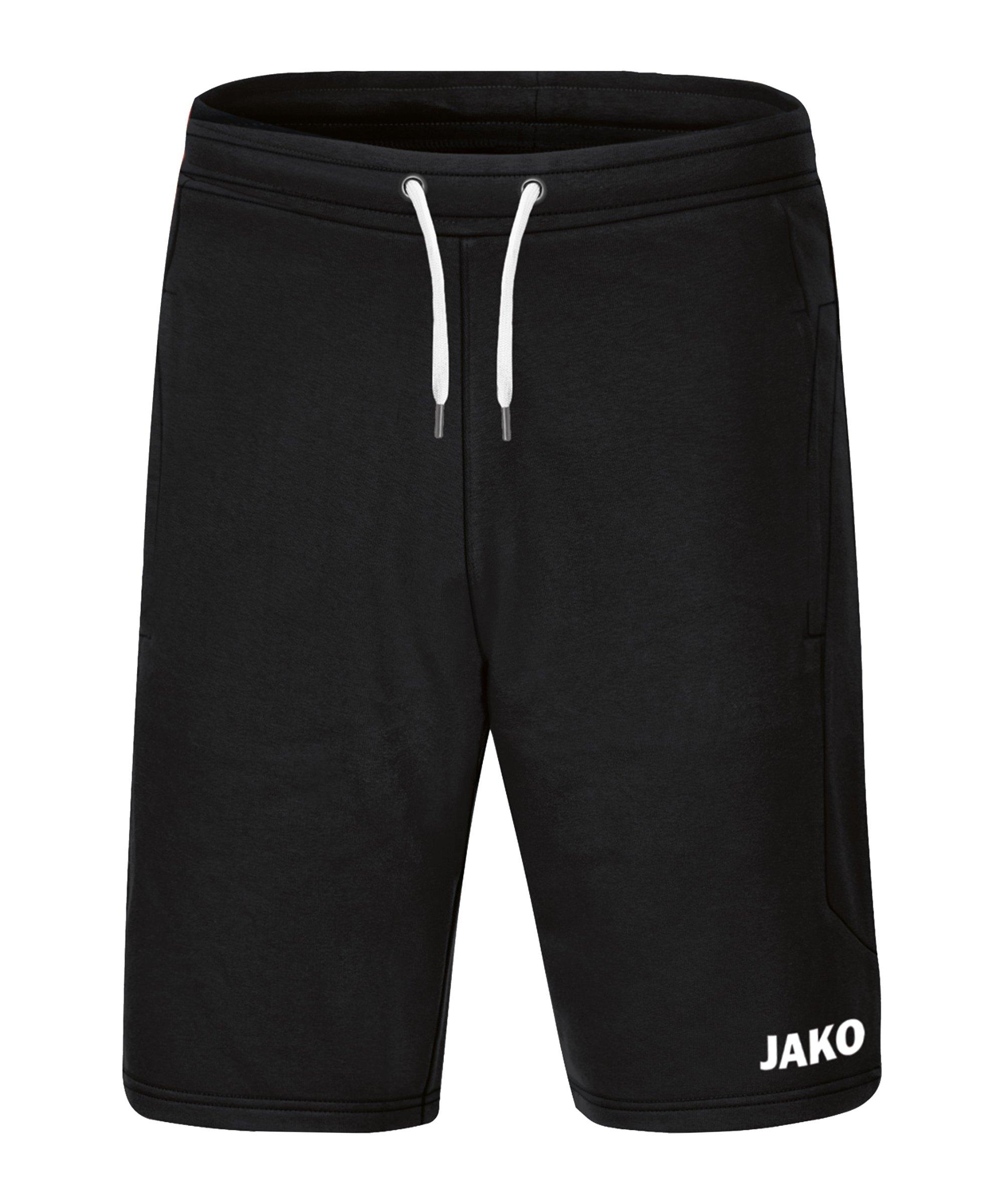 JAKO Base Short Schwarz F08 - schwarz