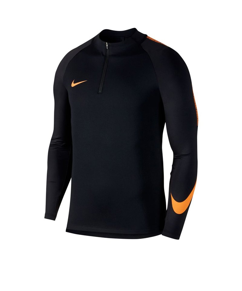 Nike Dry Football Drill Top 1/4 Zip Kids F015 - schwarz