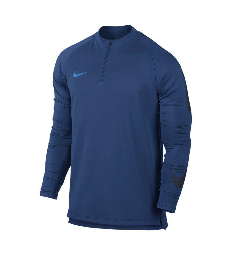 Nike Dry Football Drill Top 1/4 Zip Kids F431 - blau
