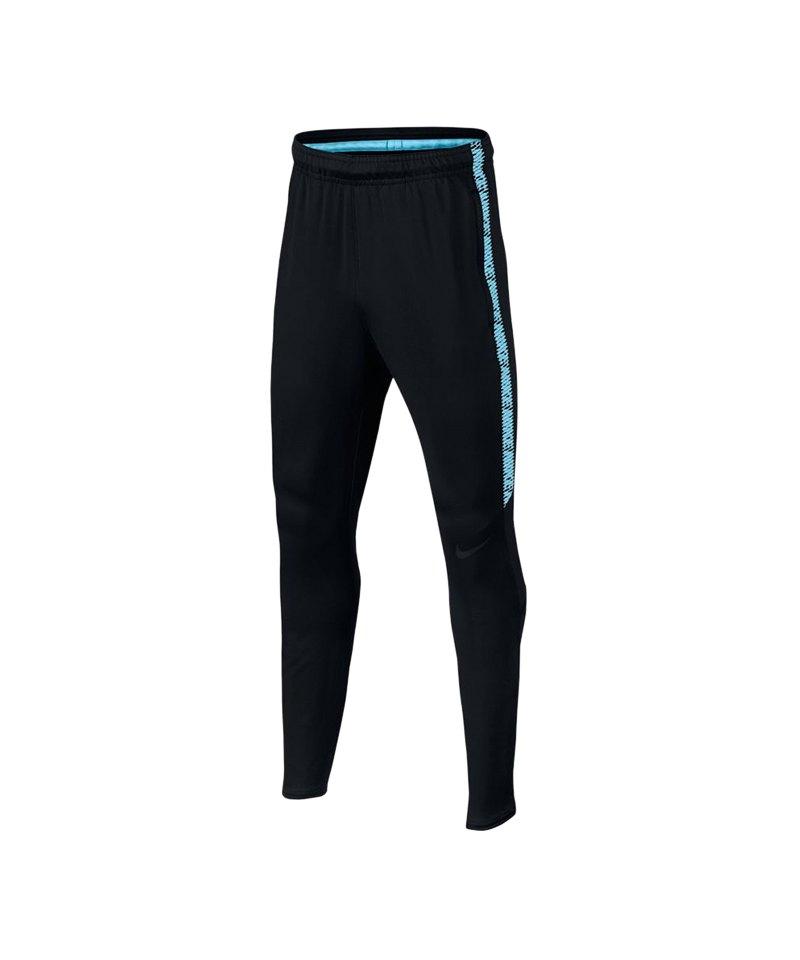 Nike Dry Squad Fußballhose Pant Kids Schwarz F016 - schwarz