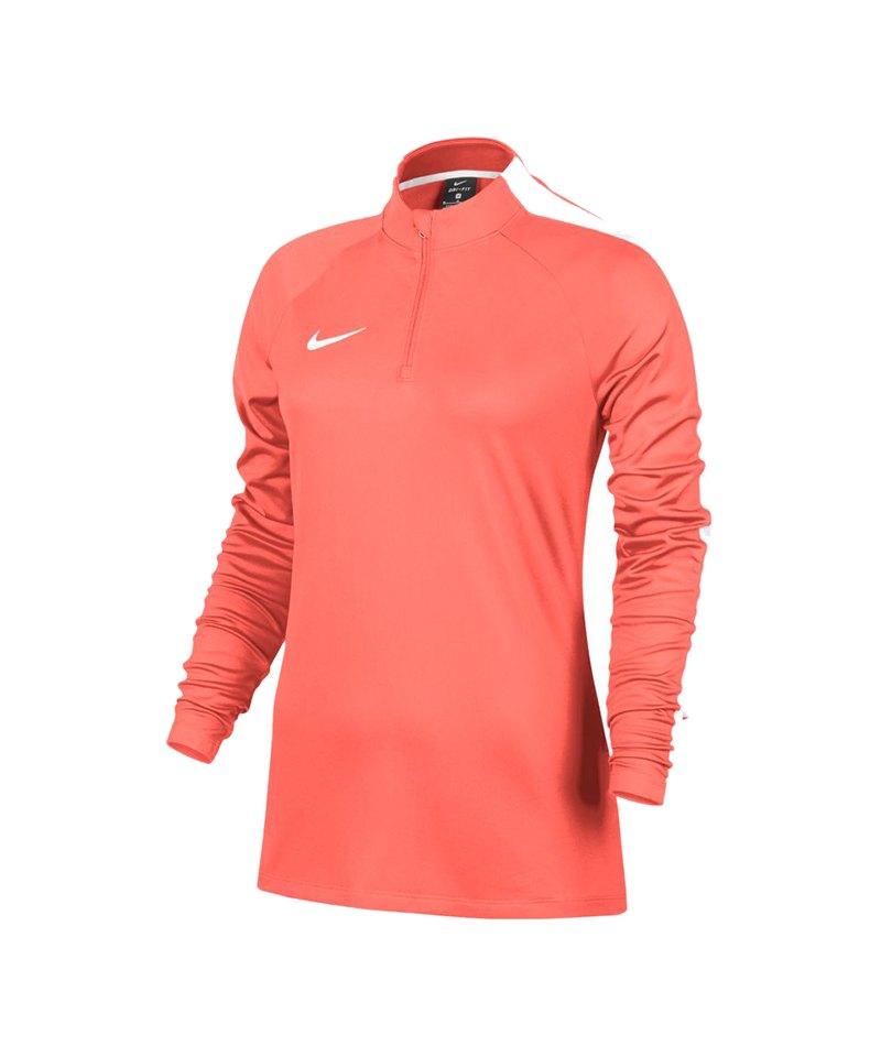 Nike Academy Drill Top Sweatshirt Damen F800 - orange