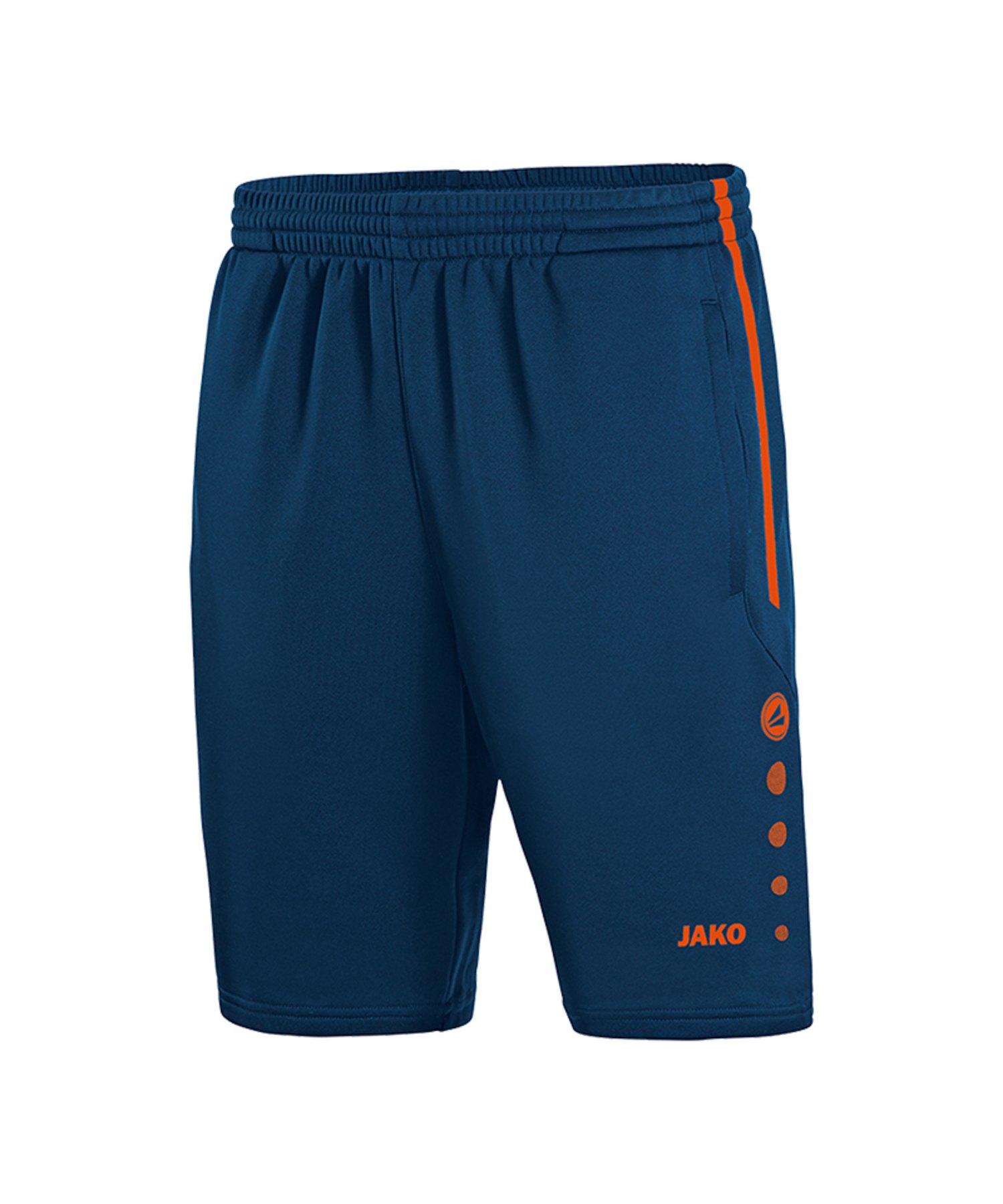 Jako Active Trainingsshort Kids Blau Orange F18 - Blau
