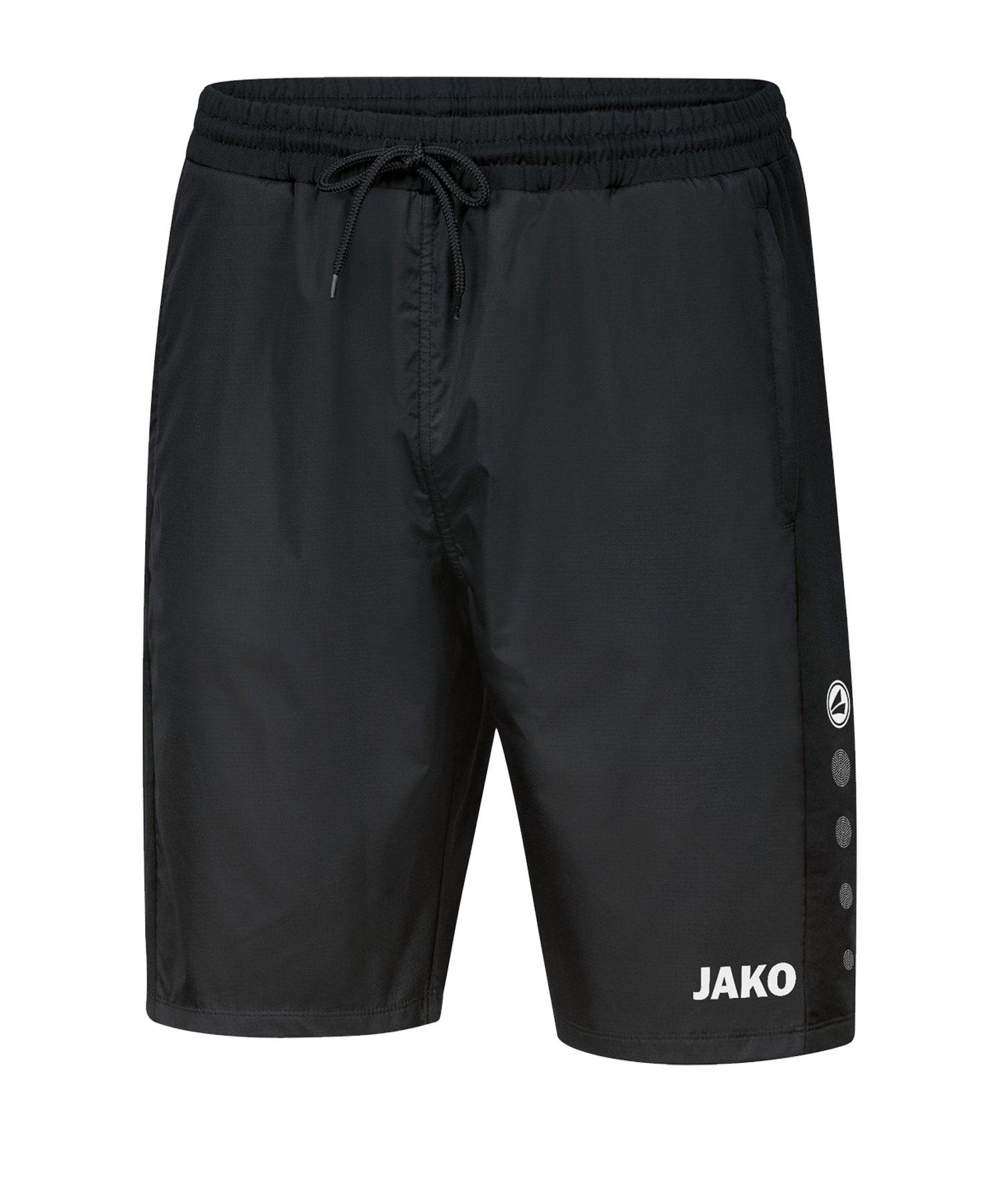 JAKO Trainingsshort Winter Schwarz F08 - schwarz