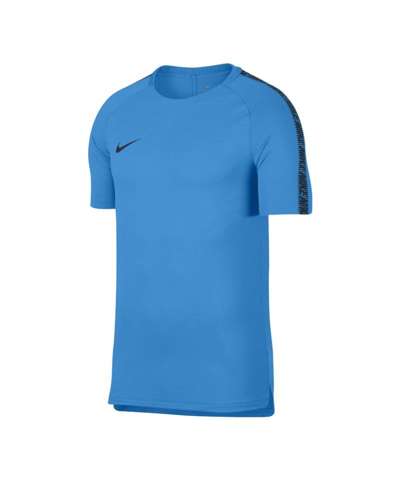 Nike Breathe Squad Shortsleeve T-Shirt Blau F469 - blau