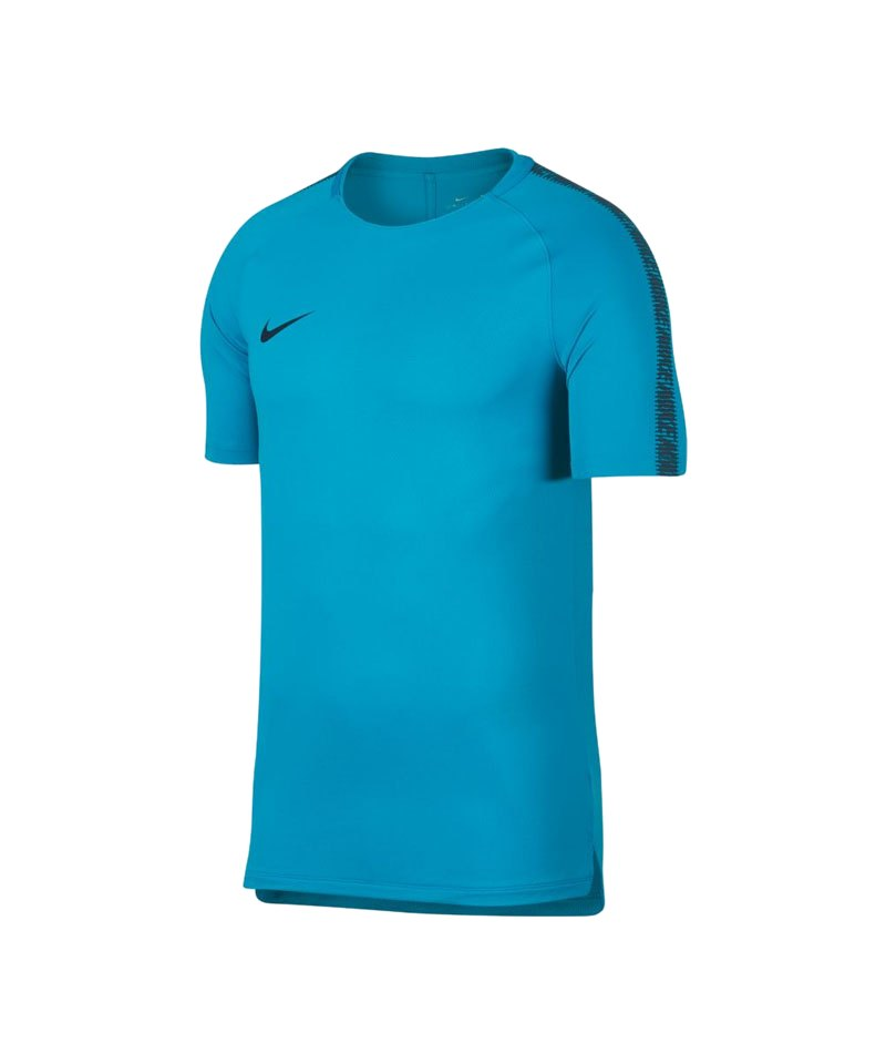 Nike Breathe Squad Shortsleeve T-Shirt F434 - blau