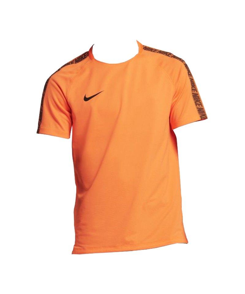 Nike Breathe Squad Shortsleeve T-Shirt Orange F806 - orange