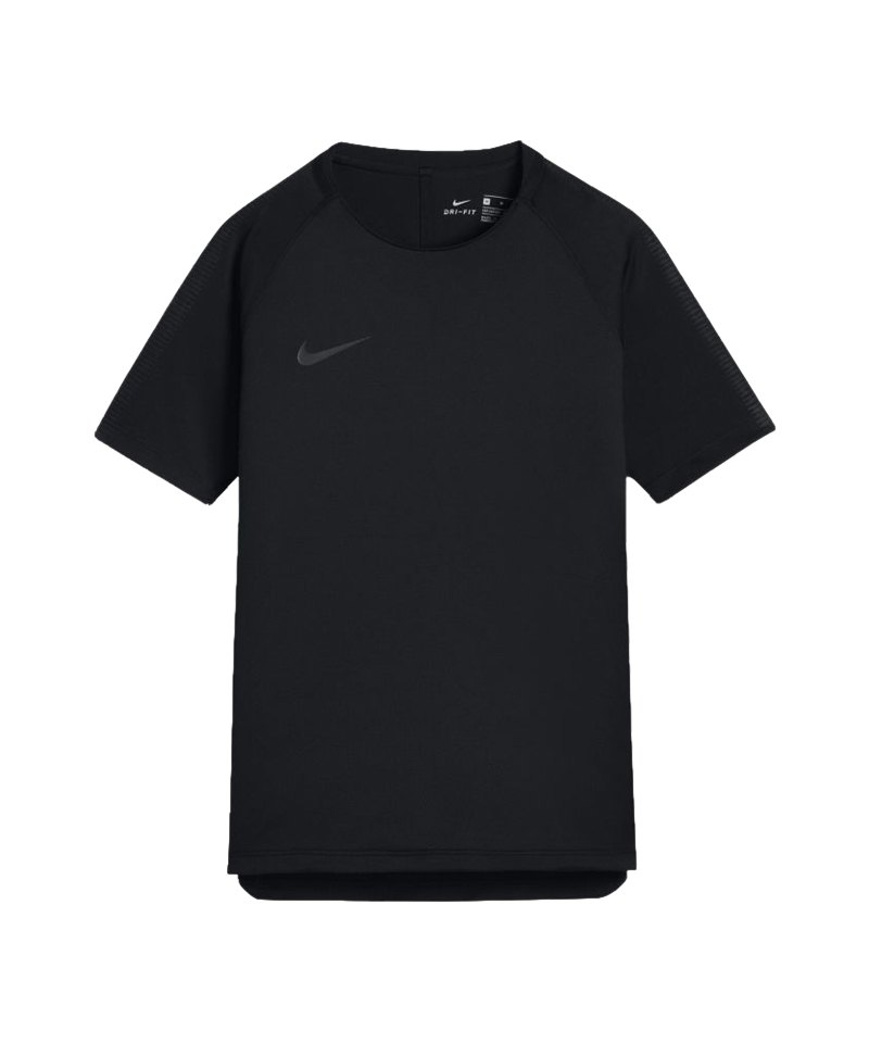 Nike Breathe Squad Football Top kurzarm Kids F013 - schwarz