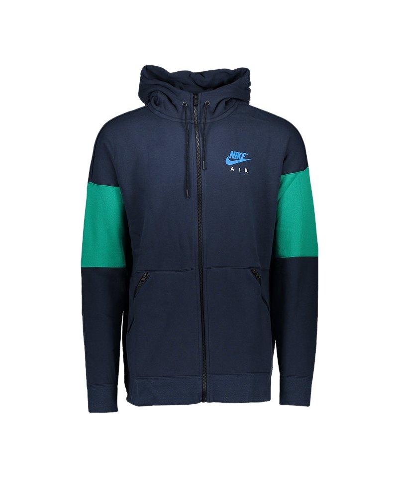 Nike Air Fullzip Hoody Kapuzenjacke Blau F451 - blau