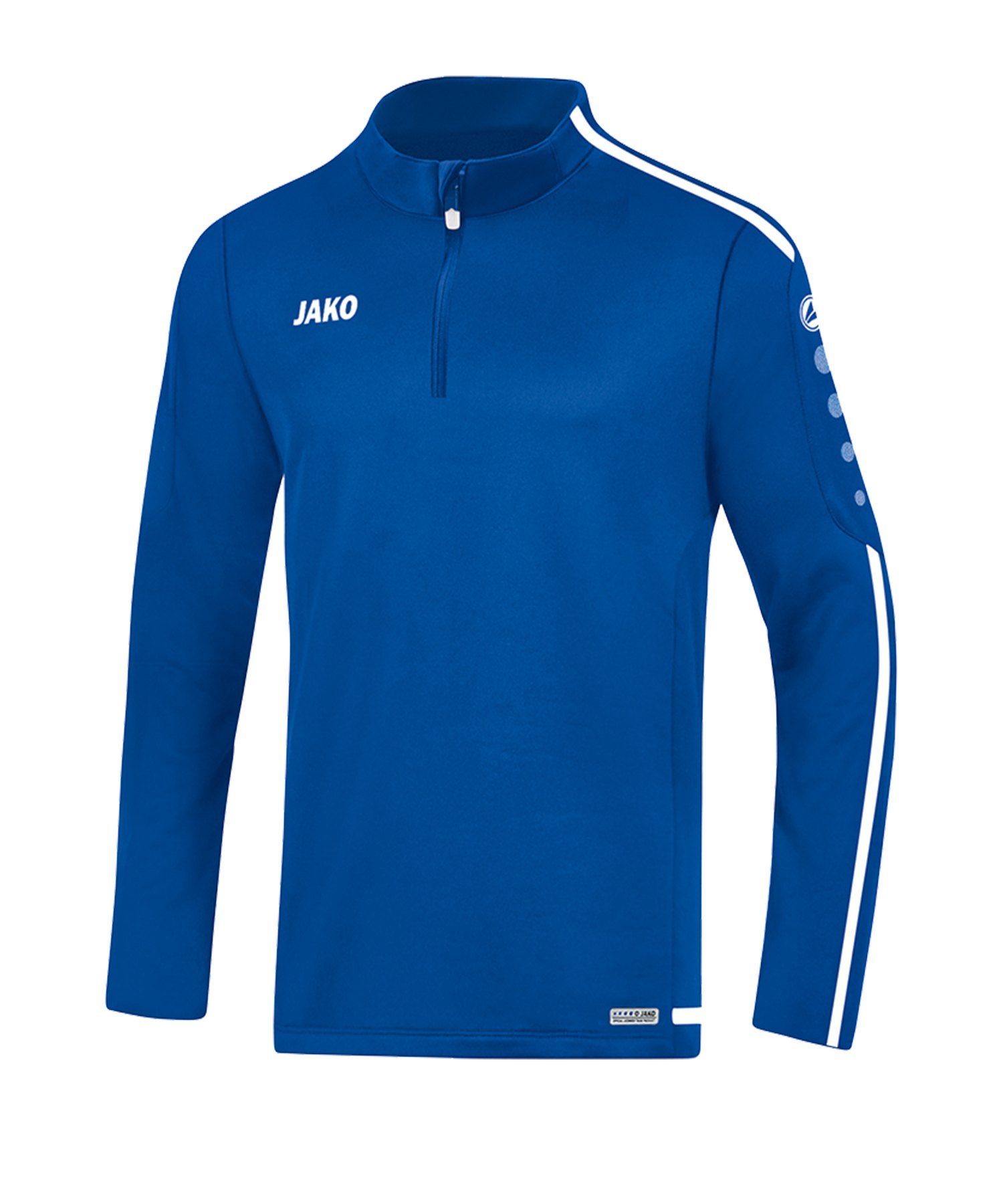 Jako Striker 2.0 Ziptop Kids Blau Weiss F04 - Blau