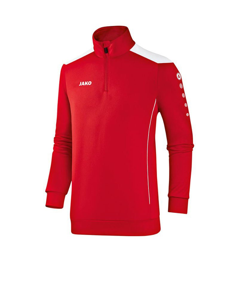 Jako Ziptop Cup Kinder F01 Rot Weiss - rot