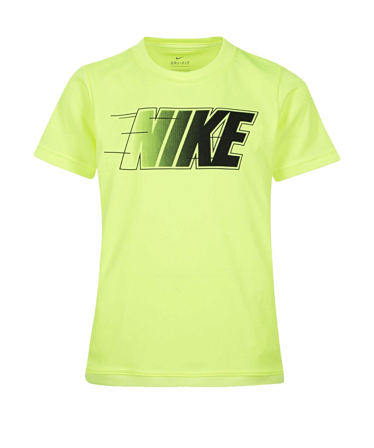 Nike Dri-FIT T-Shirt Kids Grau F370 - grau