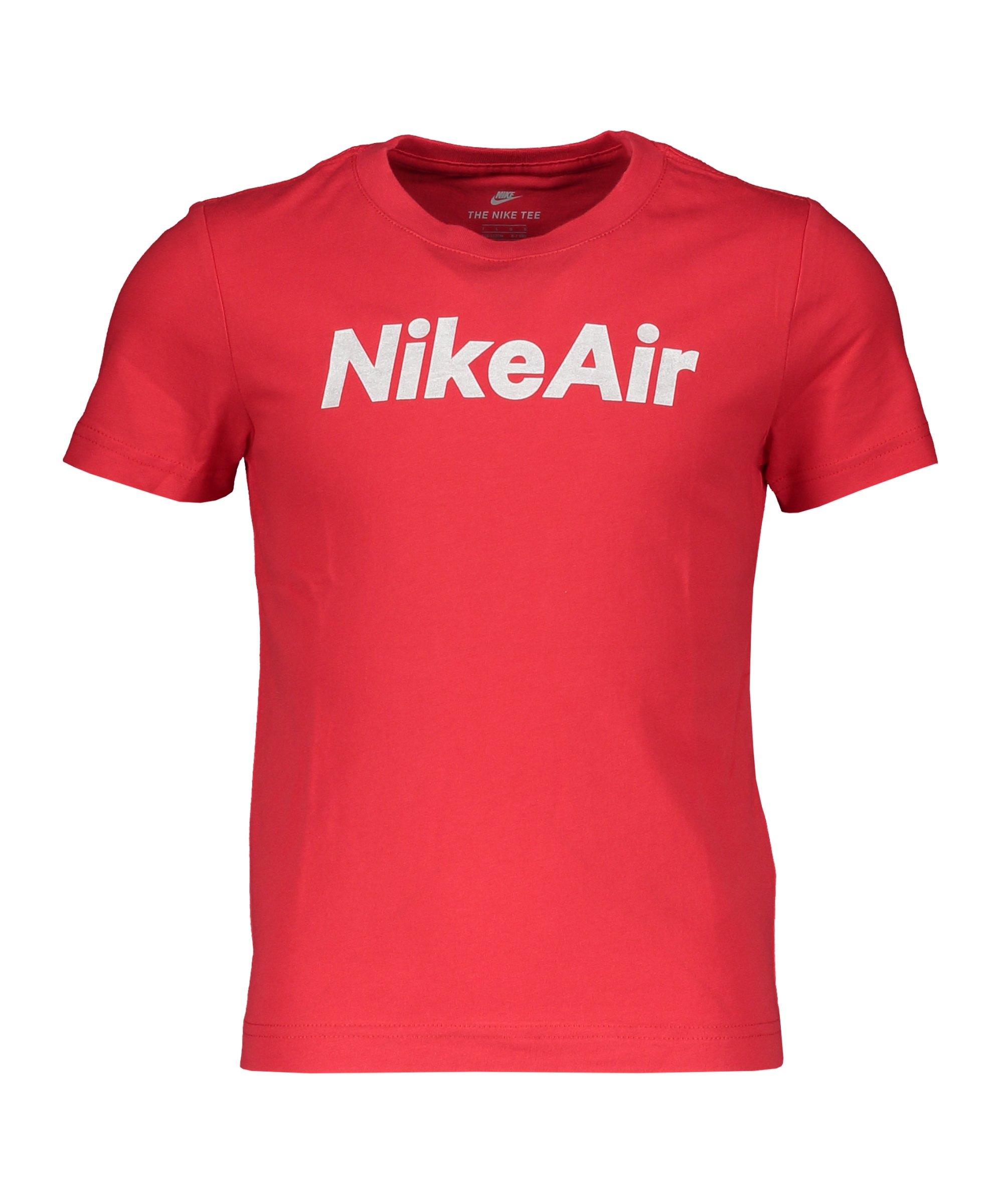 Nike Air T-Shirt Kids Rot FU10 - rot