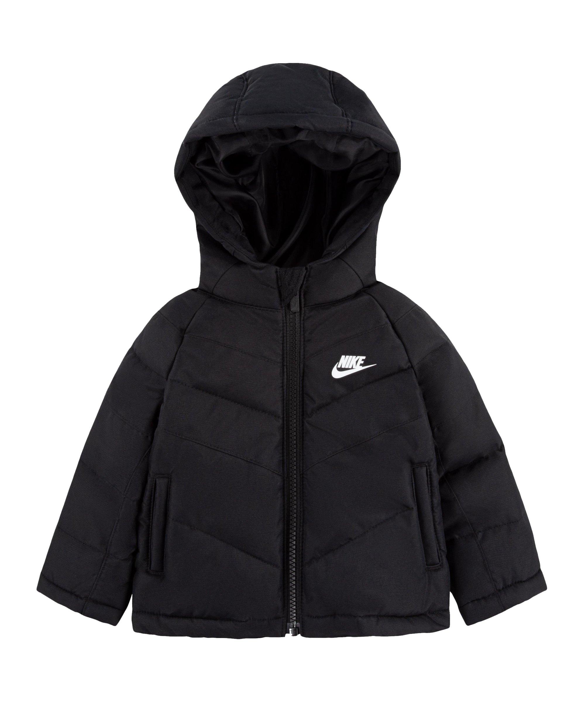 Nike Filled Jacke Kids Schwarz F023 - schwarz