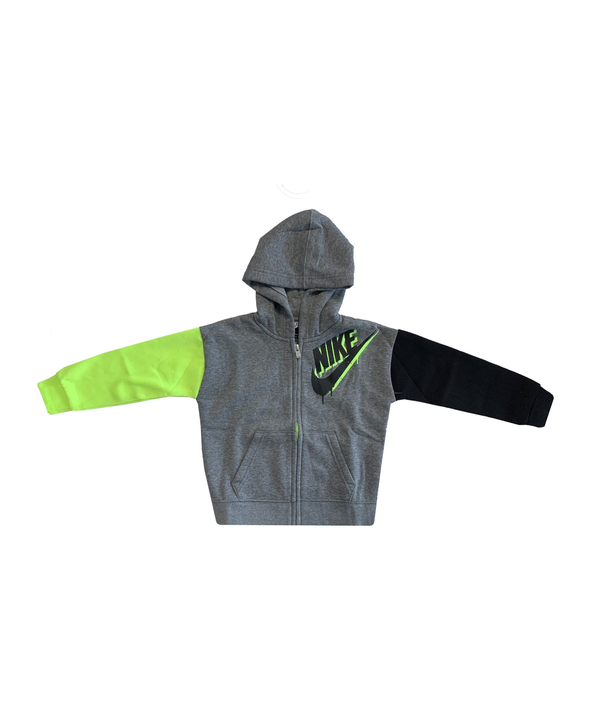 Nike Tag Kapuzenjacke Kids Grau FGEH - grau