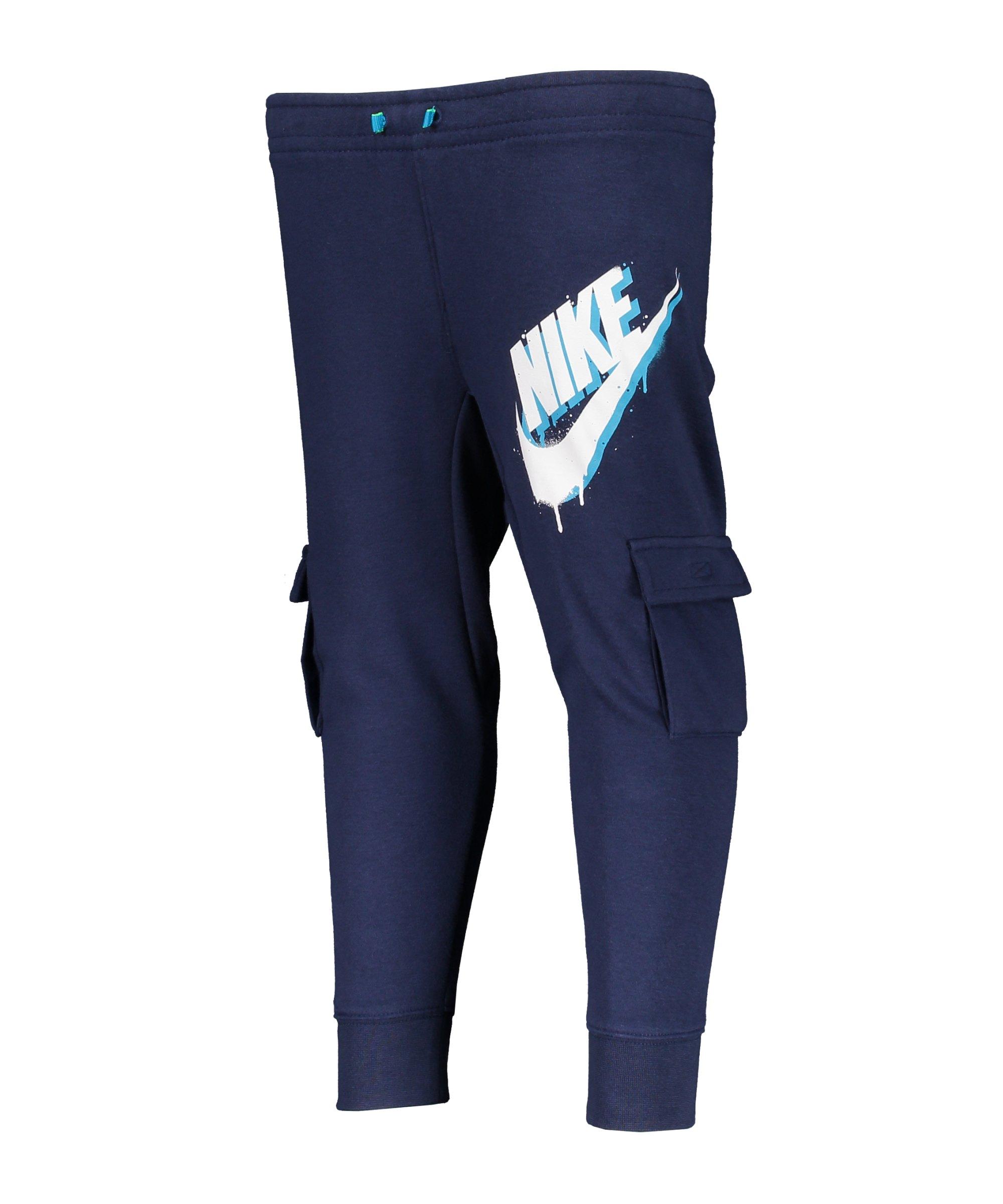 Nike Tag Cargo Jogginghose Kids Blau FU90 - blau