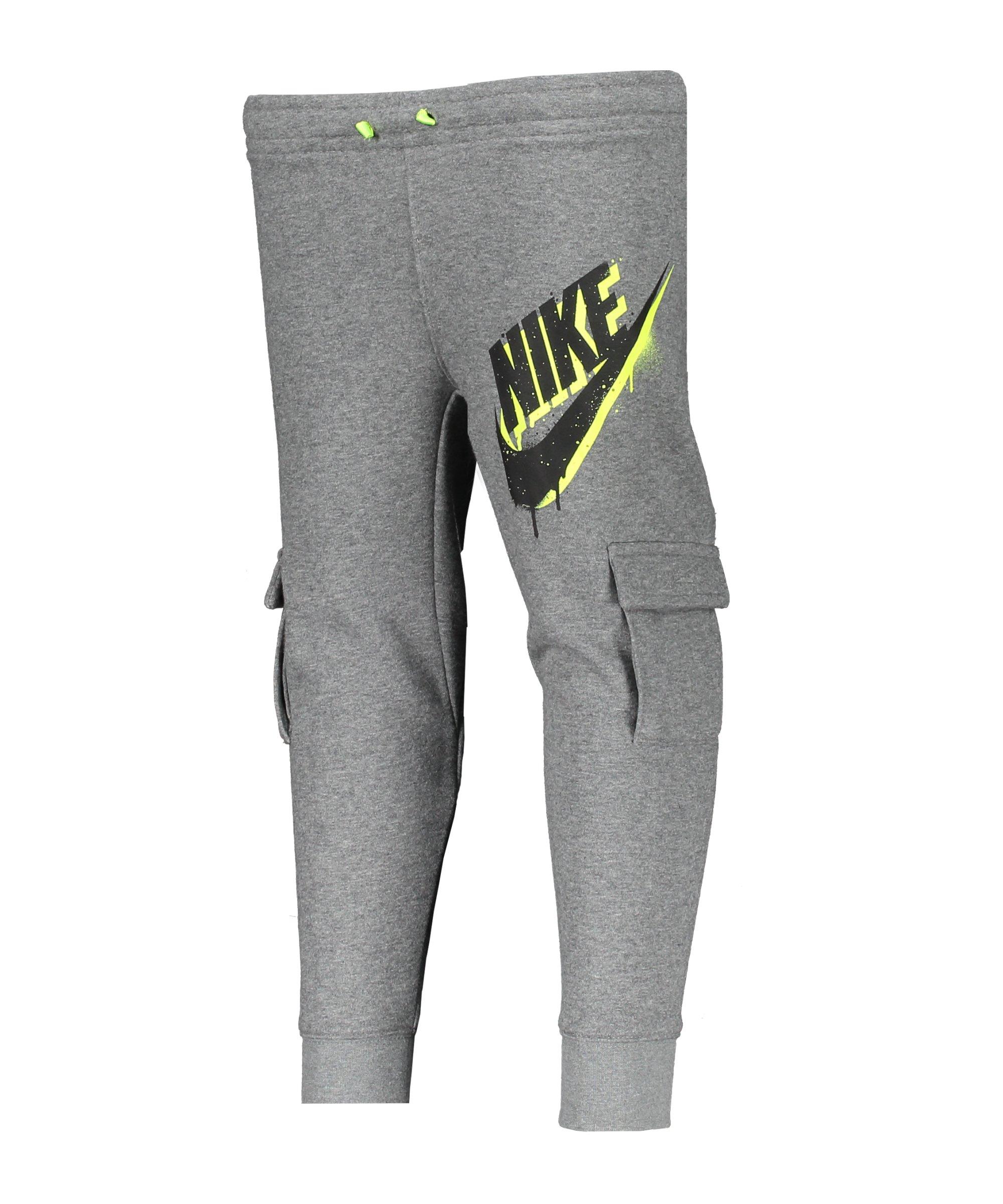 Nike Tag Cargo Jogginghose Kids Grau FGEH - grau