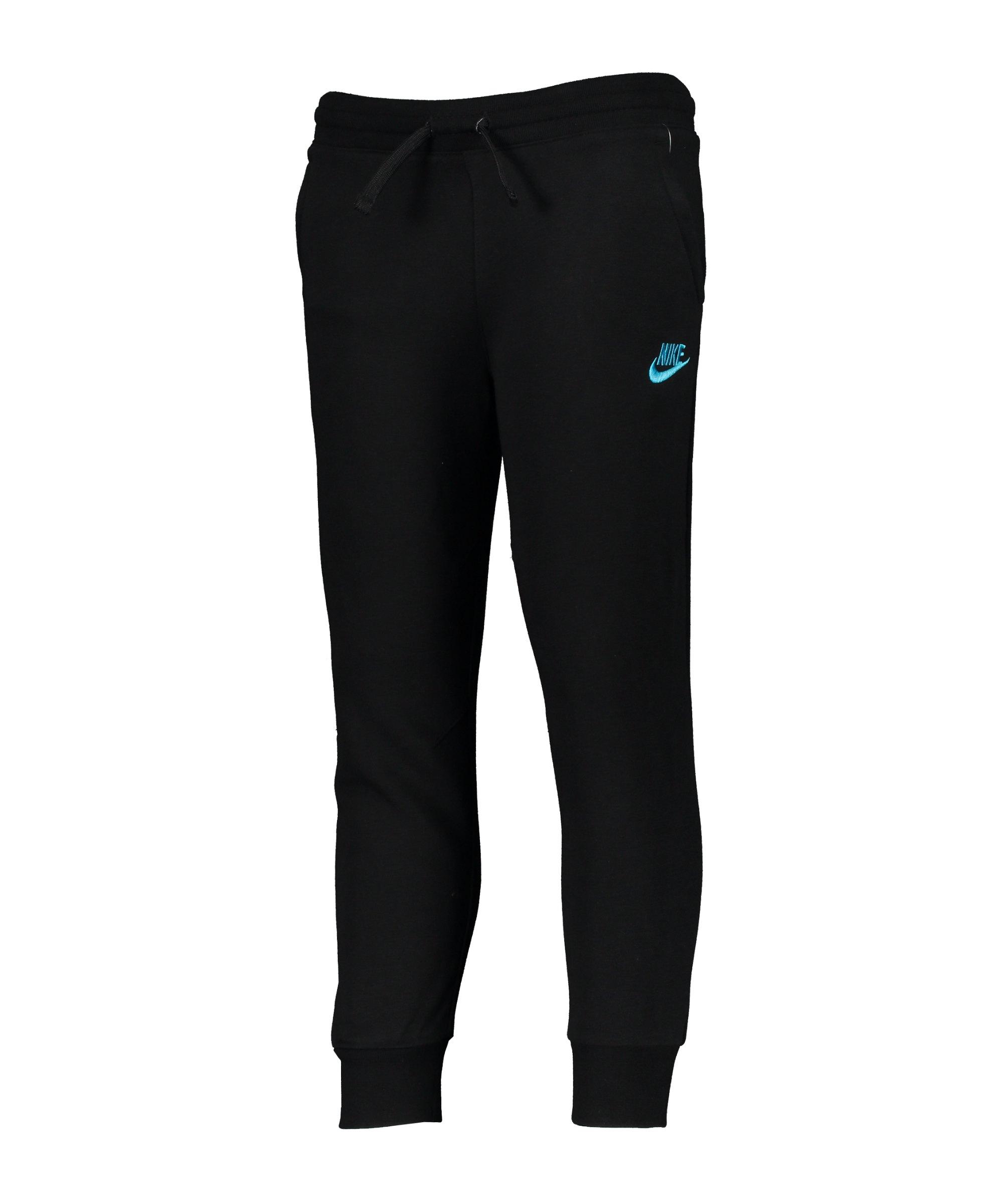 Nike AOP Jogginghose Kids Schwarz F023 - schwarz