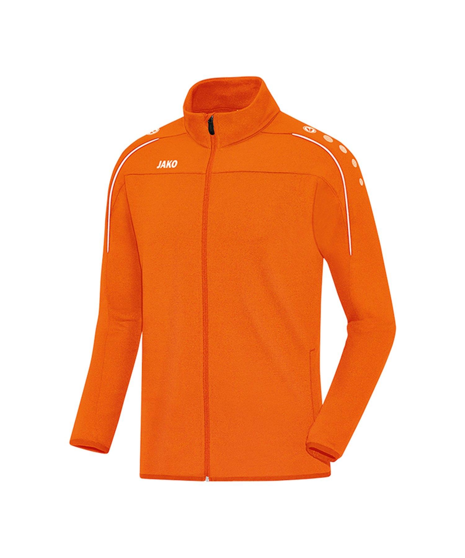 Jako Classico Trainingsjacke Orange F19 - Orange