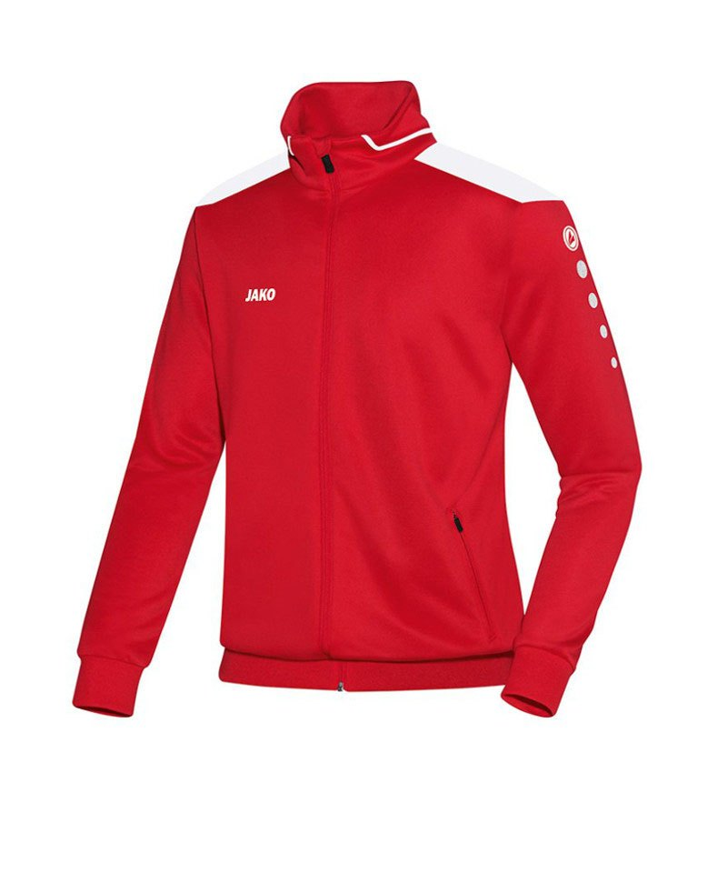 Jako Trainingsjacke Cup Kinder F01 Rot Weiss - rot