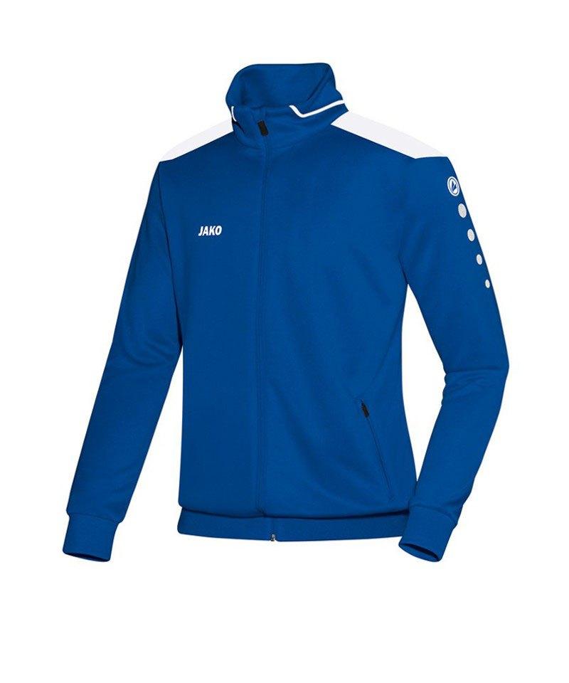 Jako Trainingsjacke Cup Kinder F04 Blau Weiss - blau