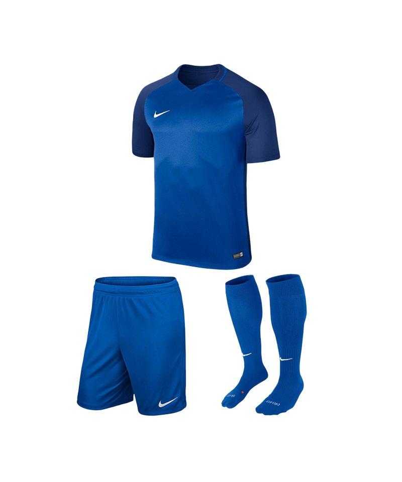 Nike Trikotset Trophy III Blau F463 - blau