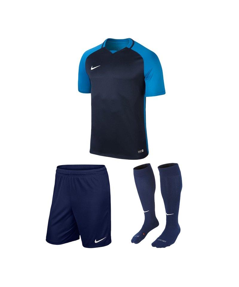 Nike Trikotset Trophy III Kinder Blau F411 - blau