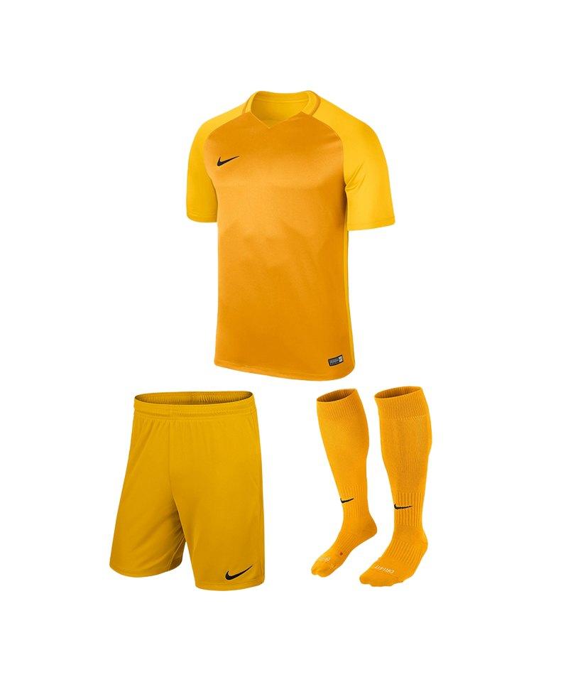 Nike Trikotset Trophy III Kinder Gelb F739 - gold