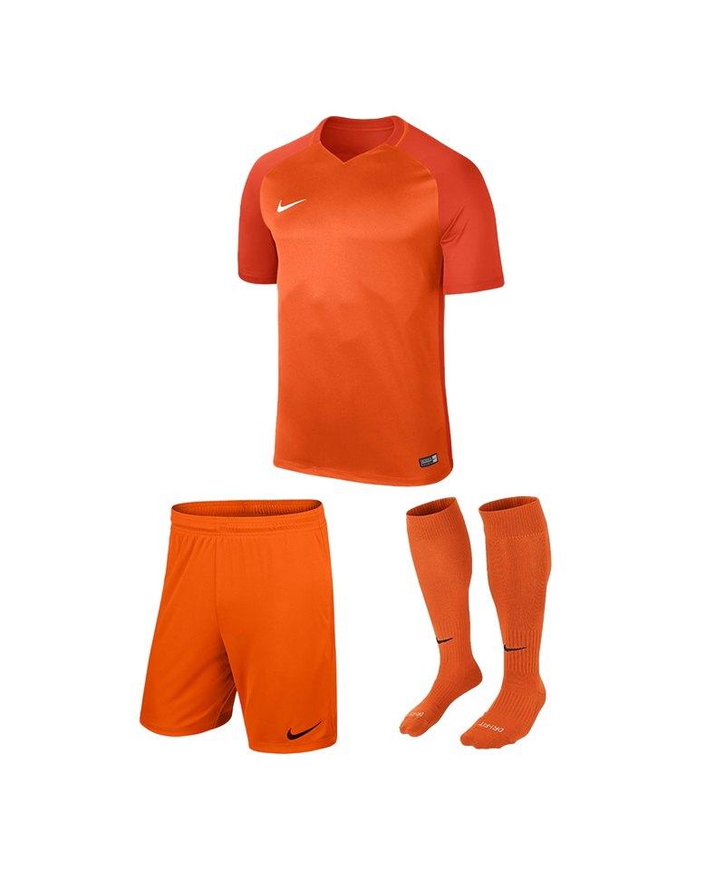 Nike Trikotset Trophy III Kinder Orange F815 - orange