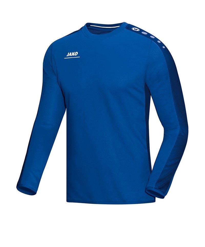 Jako Sweatshirt Striker Blau F04 - blau