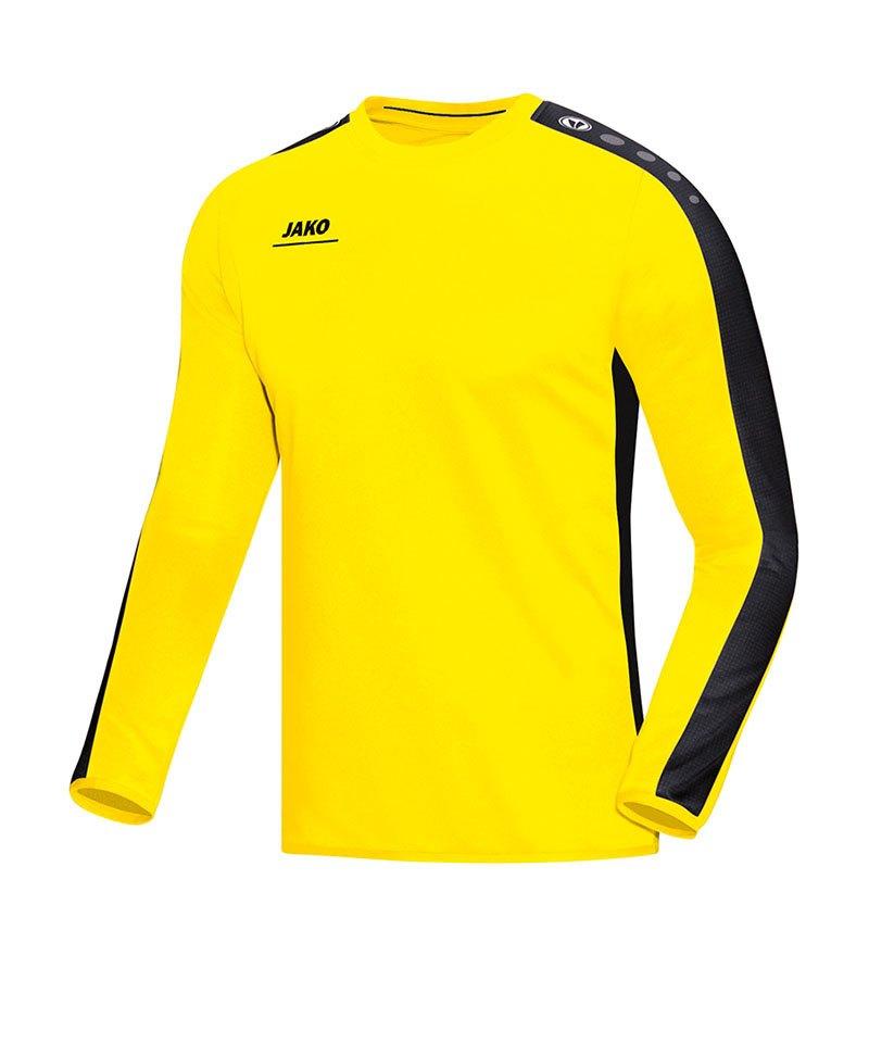 Jako Sweatshirt Striker Kinder Gelb Schwarz F03 - gelb