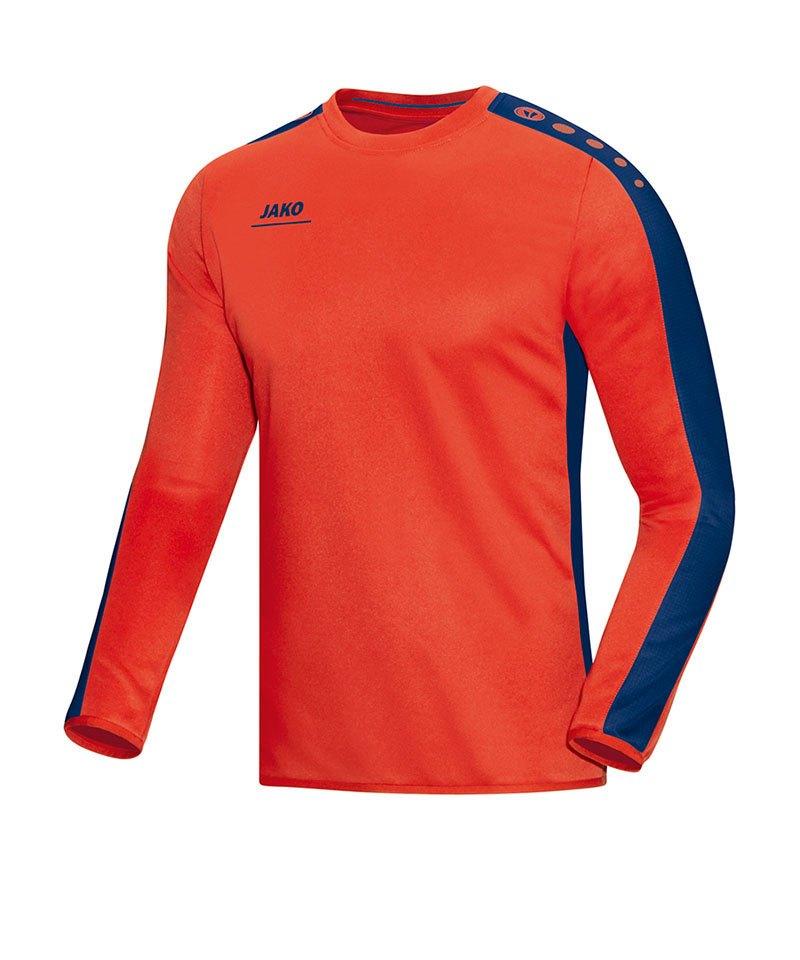 Jako Sweatshirt Striker Kinder Orange Blau F18 - orange