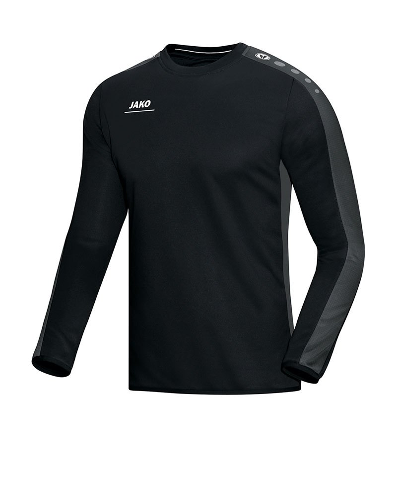 Jako Sweatshirt Striker Kinder Schwarz Grau F08 - schwarz