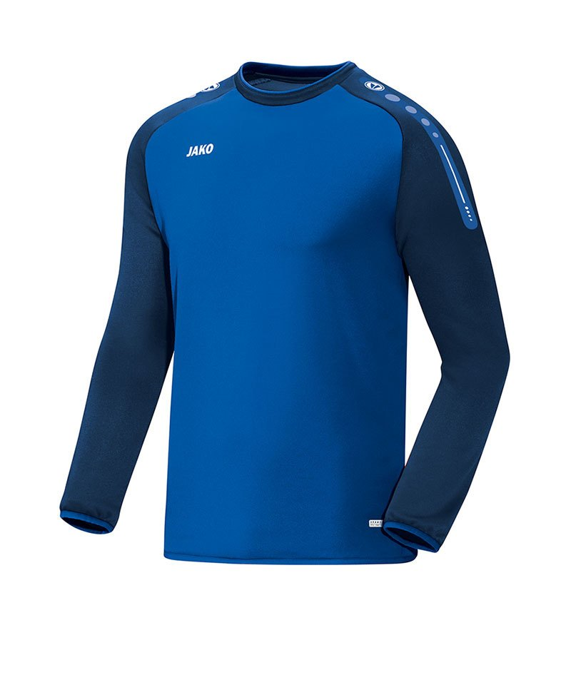 Jako Sweatshirt Champ Blau F49 - blau