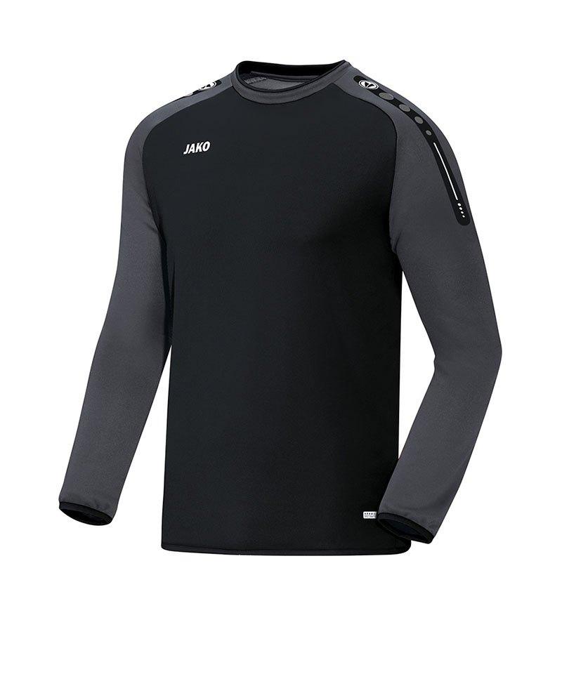 Jako Sweatshirt Champ Schwarz Grau F21 - schwarz