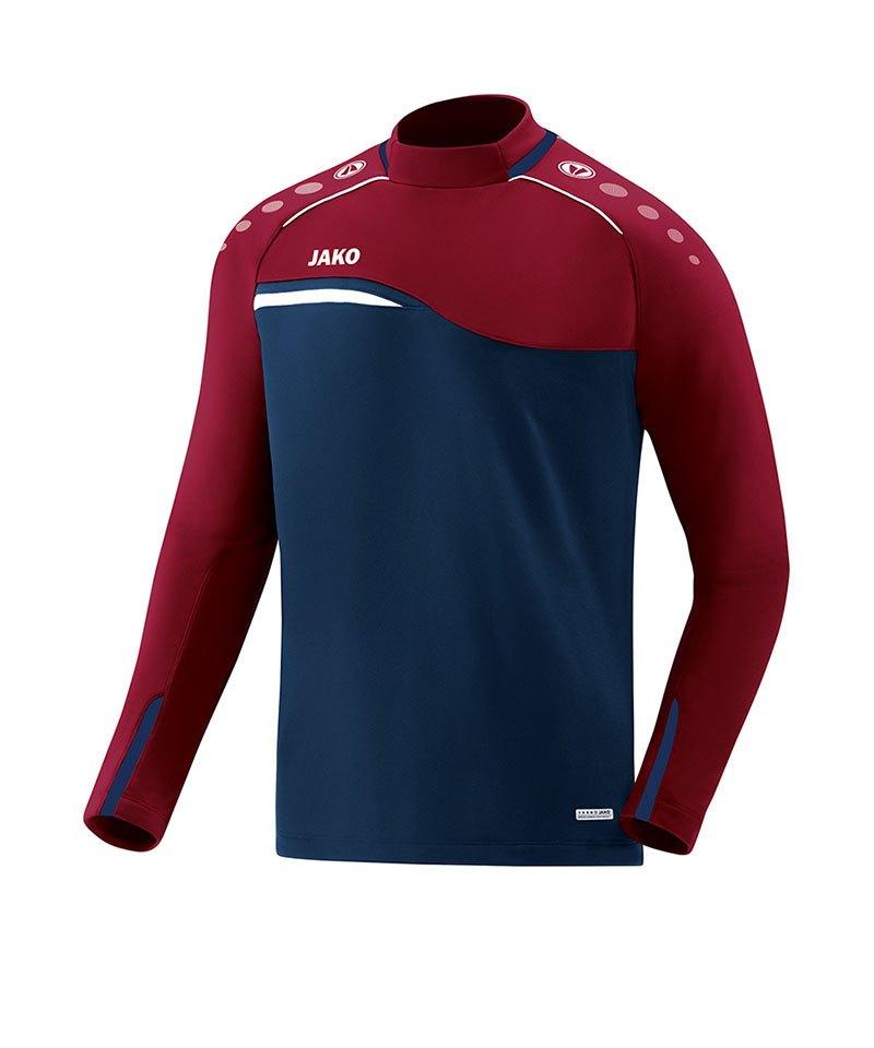 Jako Competition 2.0 Sweatshirt Blau Rot F09 - blau