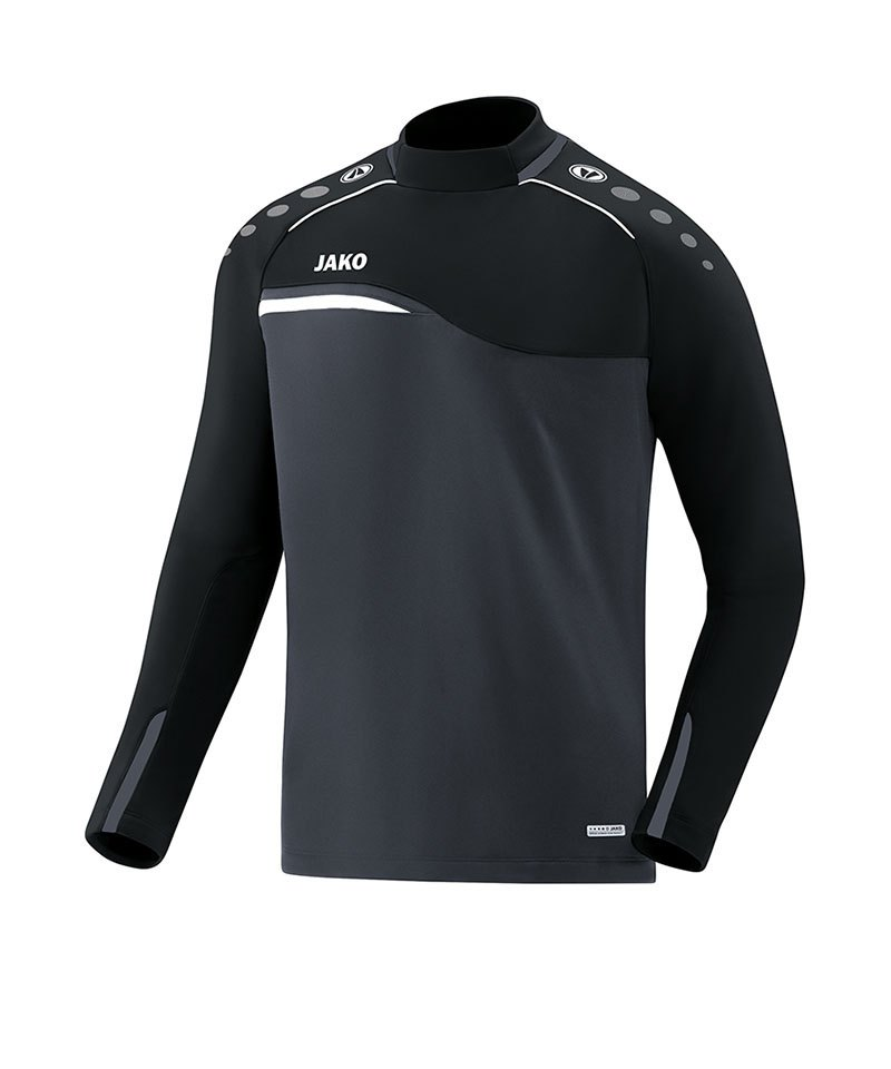 Jako Competition 2.0 Sweatshirt Grau Schwarz F08 - grau