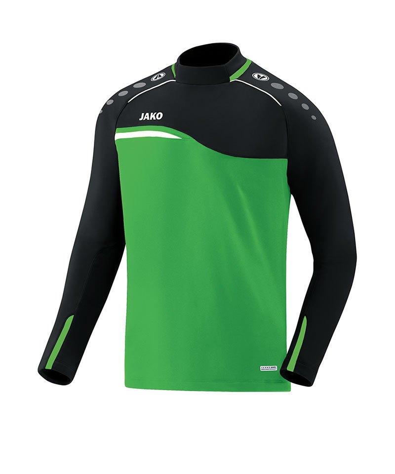 Jako Competition 2.0 Sweatshirt Grün Schwarz F22 - gruen