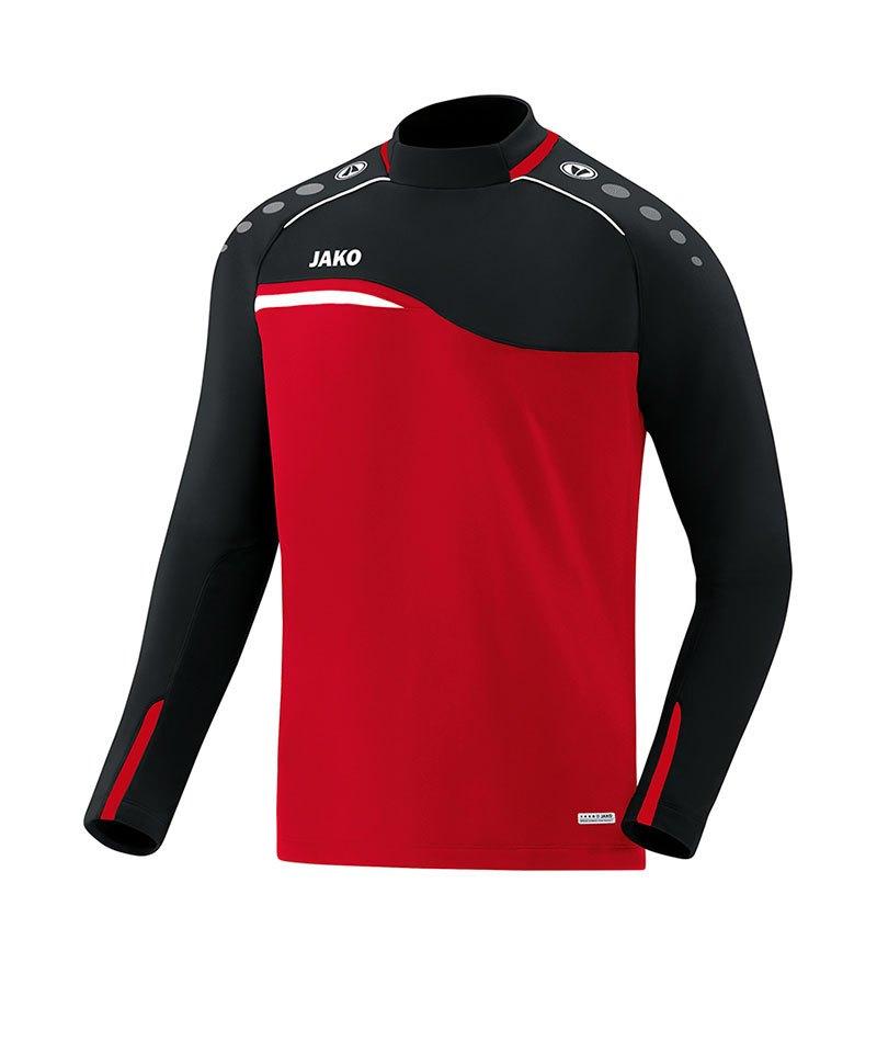 Jako Competition 2.0 Sweatshirt Rot Schwarz F01 - rot
