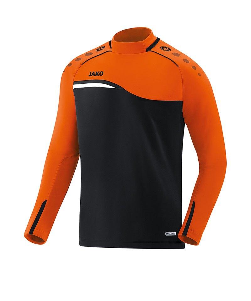 Jako Competition 2.0 Sweatshirt Schwarz Orange F19 - schwarz