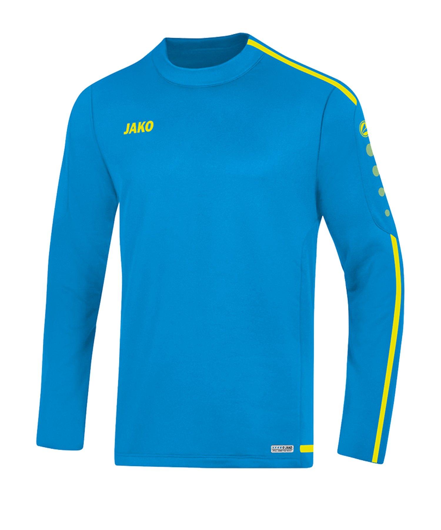 Jako Striker 2.0 Sweatshirt Kids Blau Gelb F89 - Blau